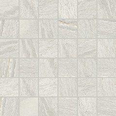 White glossy  mosaico 5x5 30x30 cm