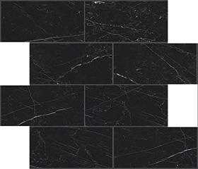 Marquinia glossy  modulo muretto sfalsato 7,5x15 30x30 cm