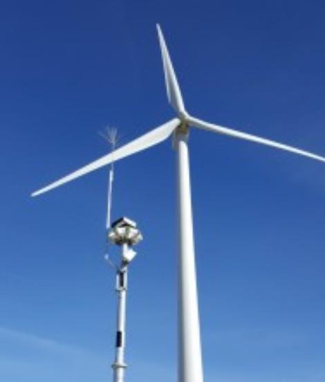 IdentiFlight Tower Installation at NREL