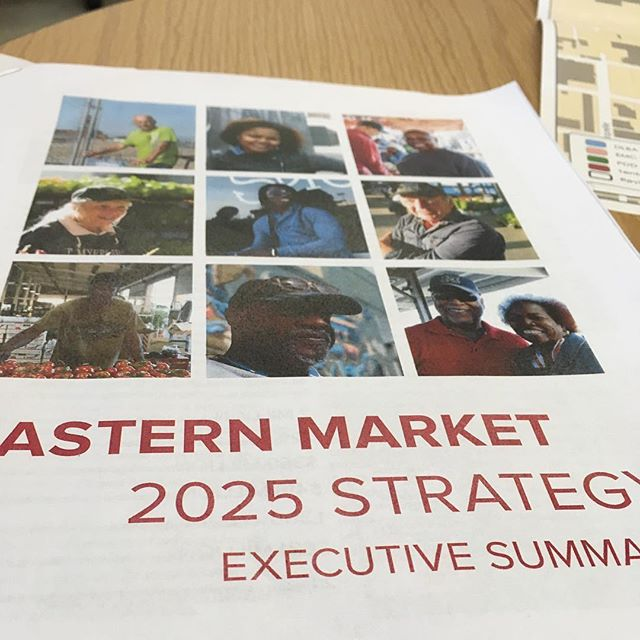 Awesome meeting about new food innovation district plans @easternmarket #foodinnovation #detroit #detentotho #closedloop #staytuned