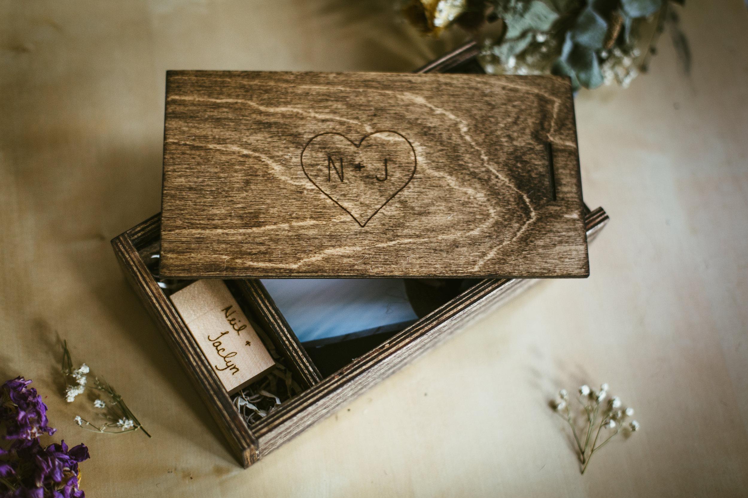 photo box keepsake box