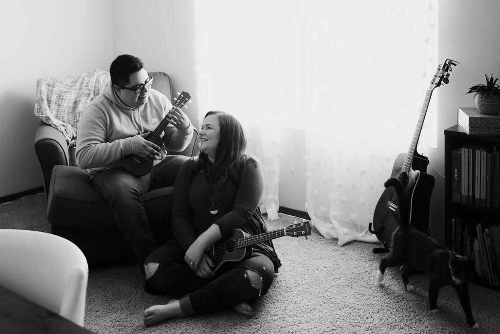 champaign engagement session