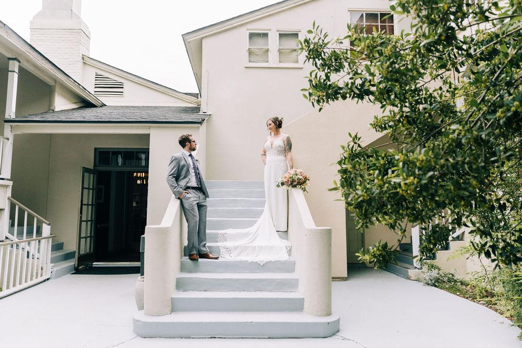 lodge at Malibu lake wedding photographer