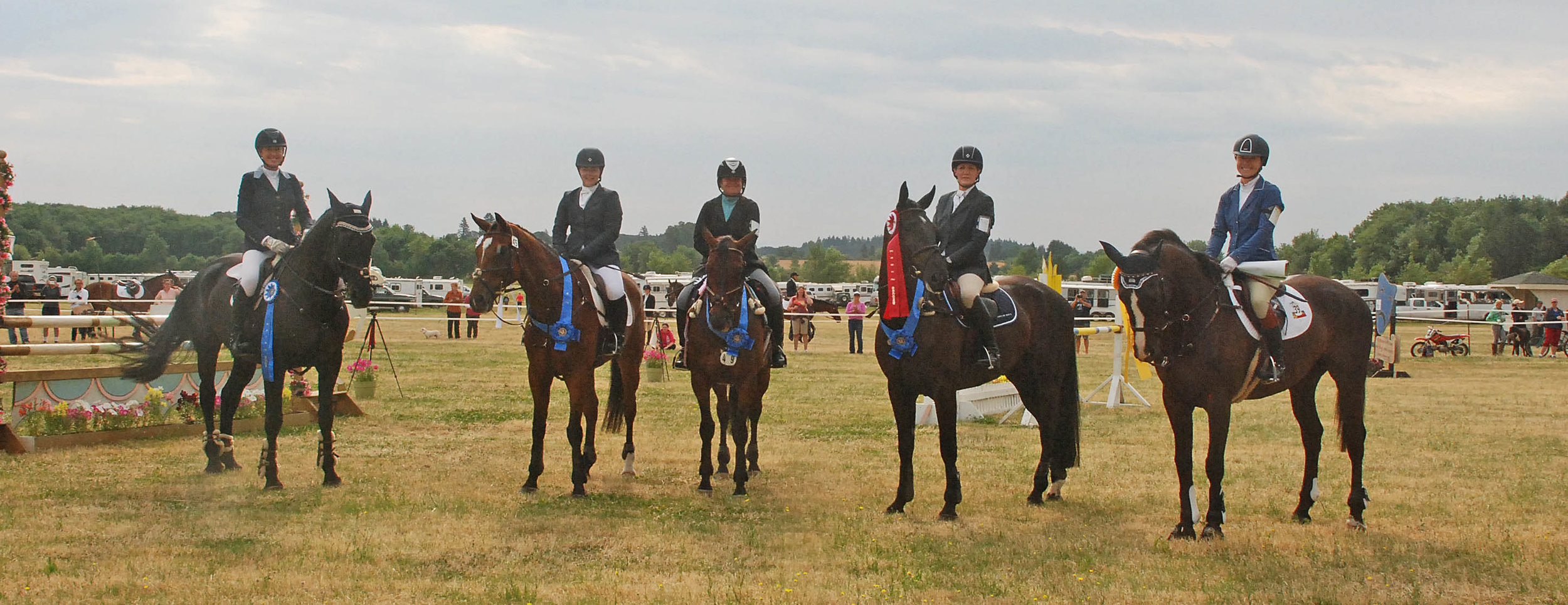 2015 Adult Team Challenge Winners at the Inavale Farm Horse Trials
