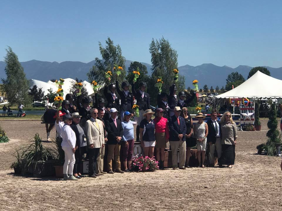 Team Area VII - Silver Winners at the 2017 NAJYRC.