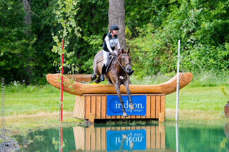 Sophie Click and Fernhill Rising rode with confidence to win the Aspen Farms CIC**. Photo by Jo Arlow Photography.