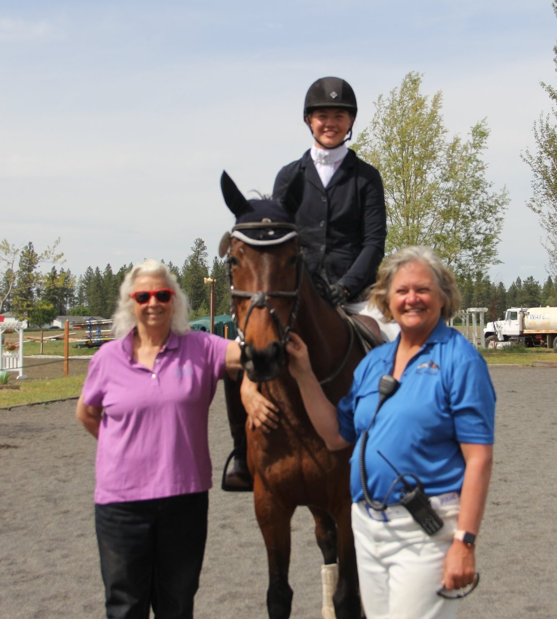 VIP Gail Mackie with Cyra Carlson and Christel Carlson.jpg