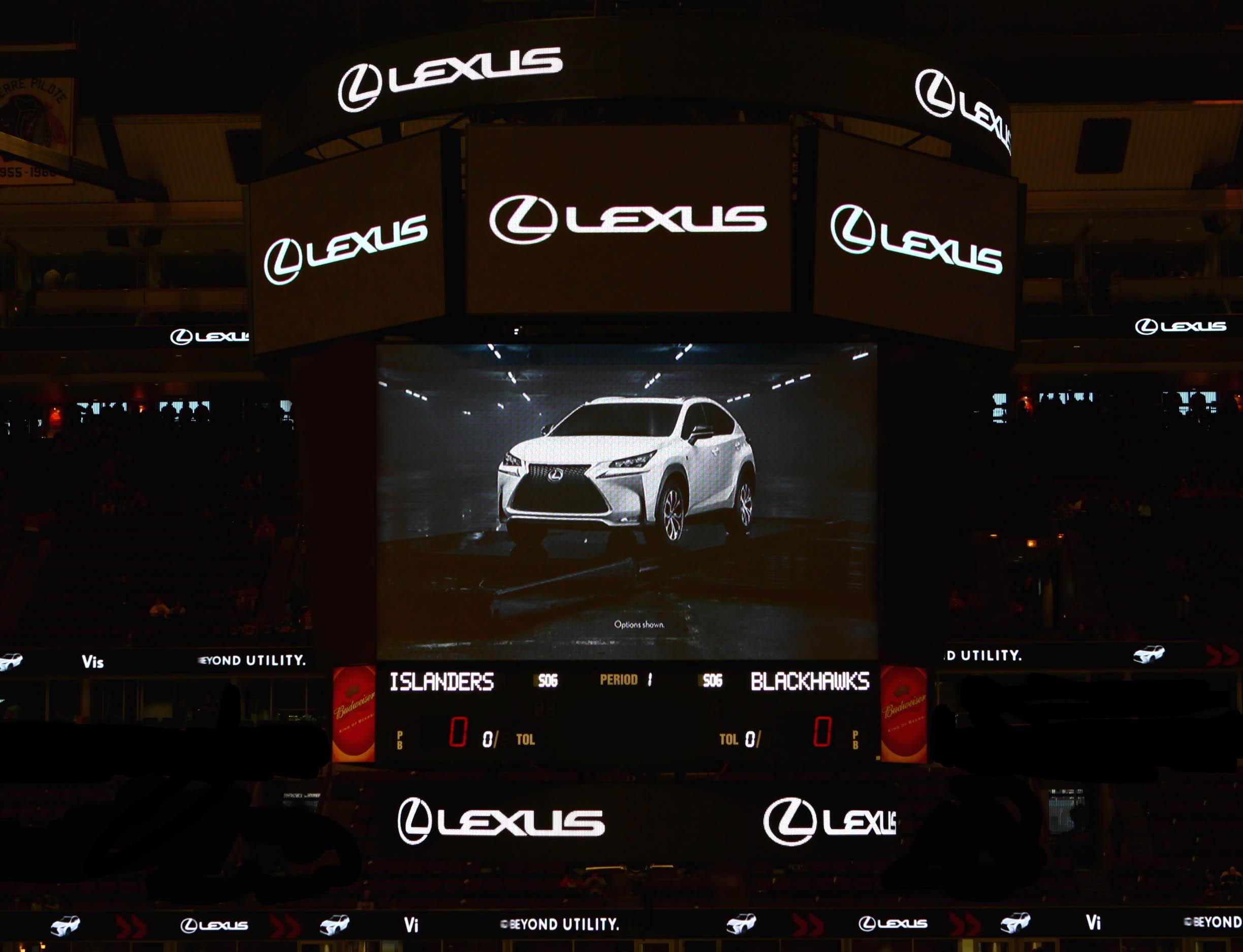 Lexus brand breakthrough live sports