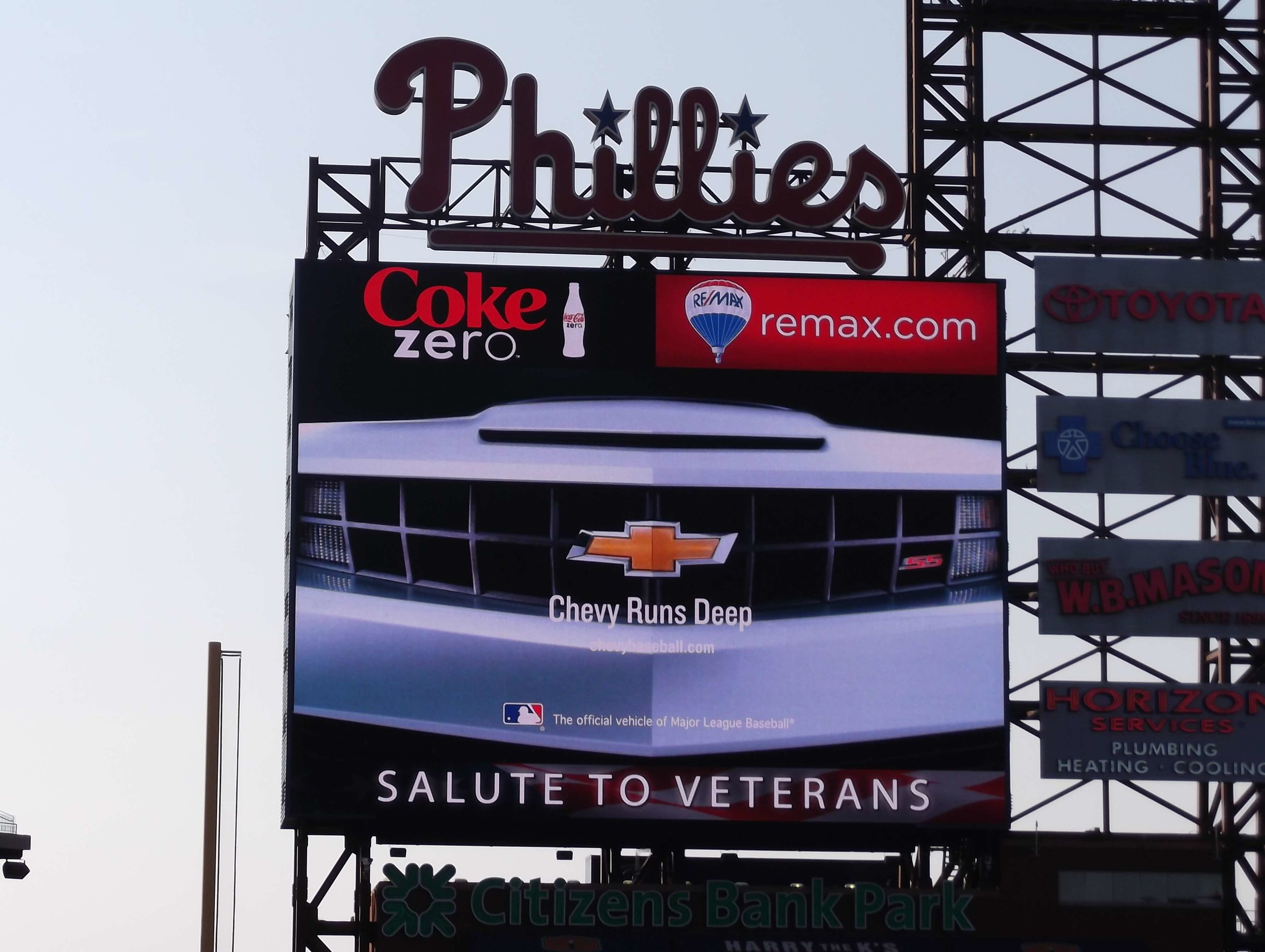 Chevy and the Phillies deliver fan engagement