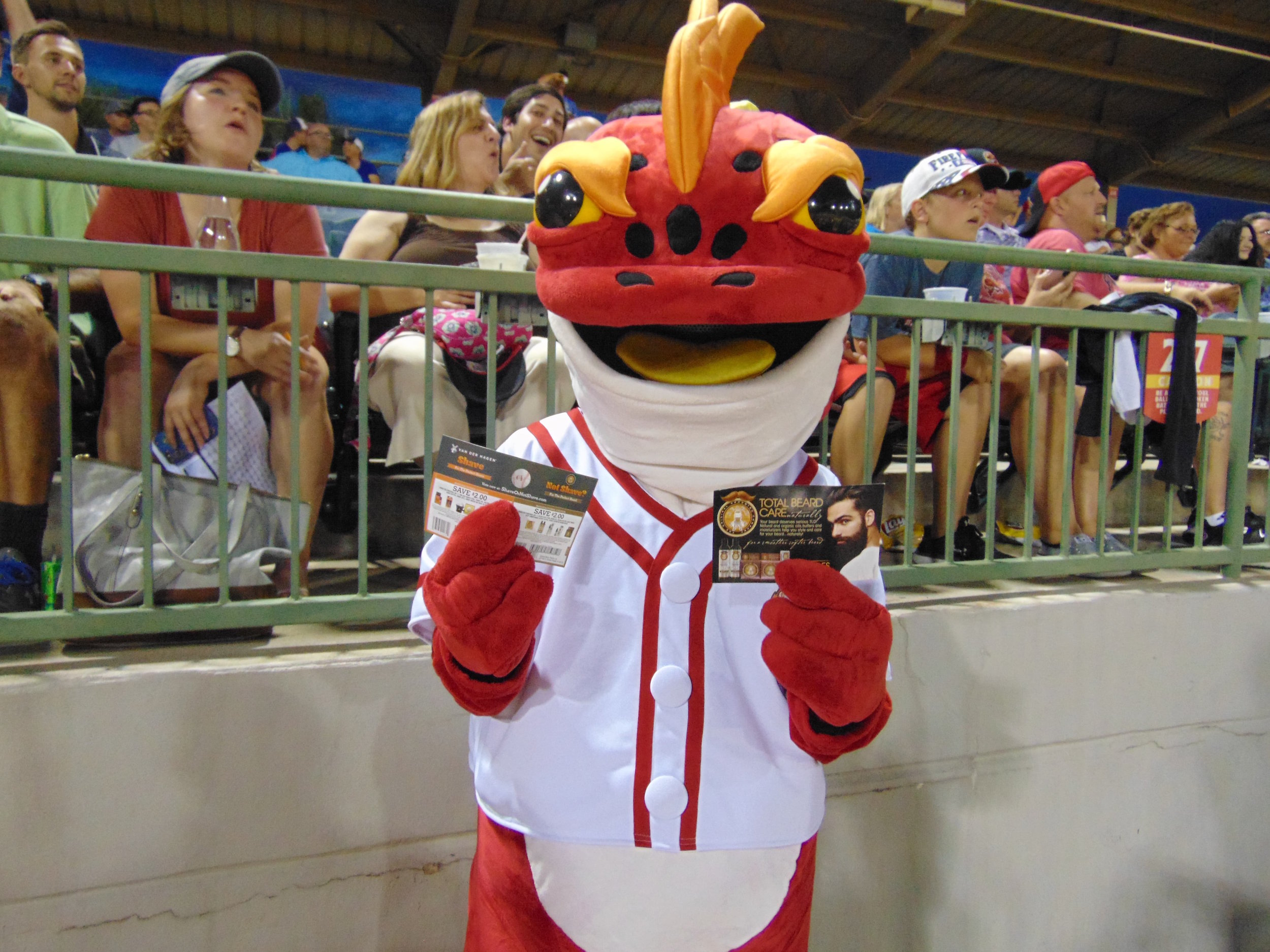 UBP Mascot
