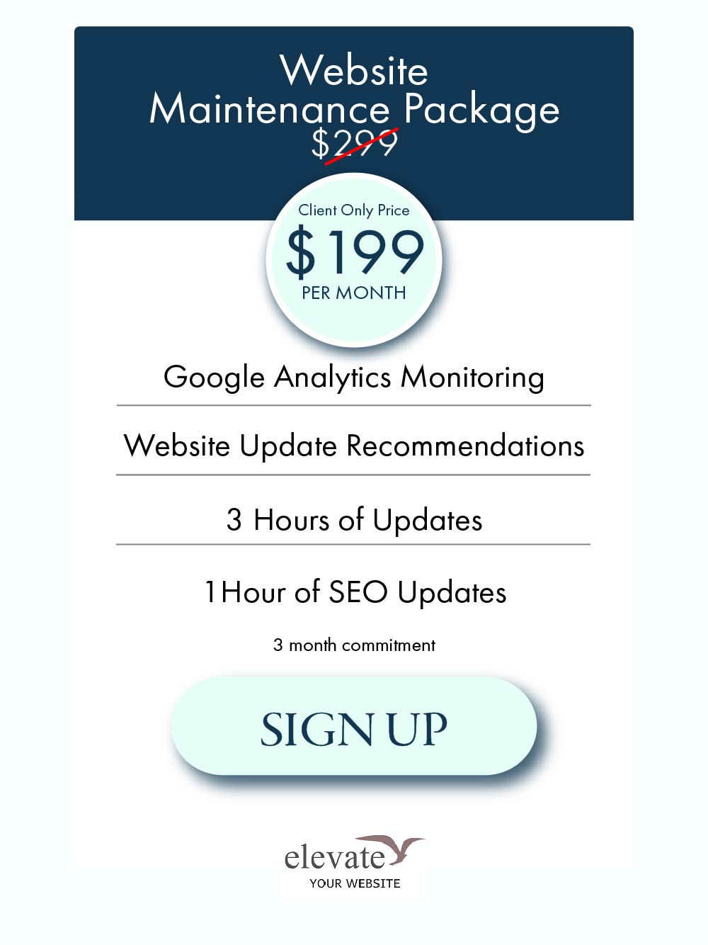 Website Maintenance Package Camas, WA
