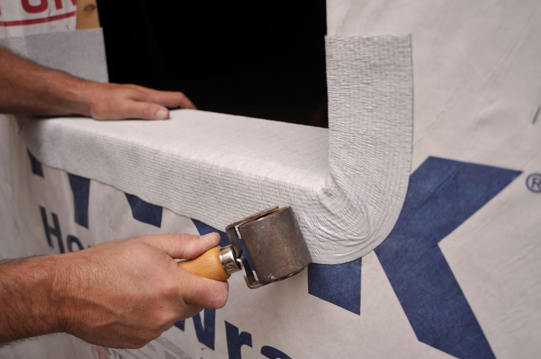 As with any MFM product, use a hand roller to achieve maximum contact with the substrate for a better waterproof bond.