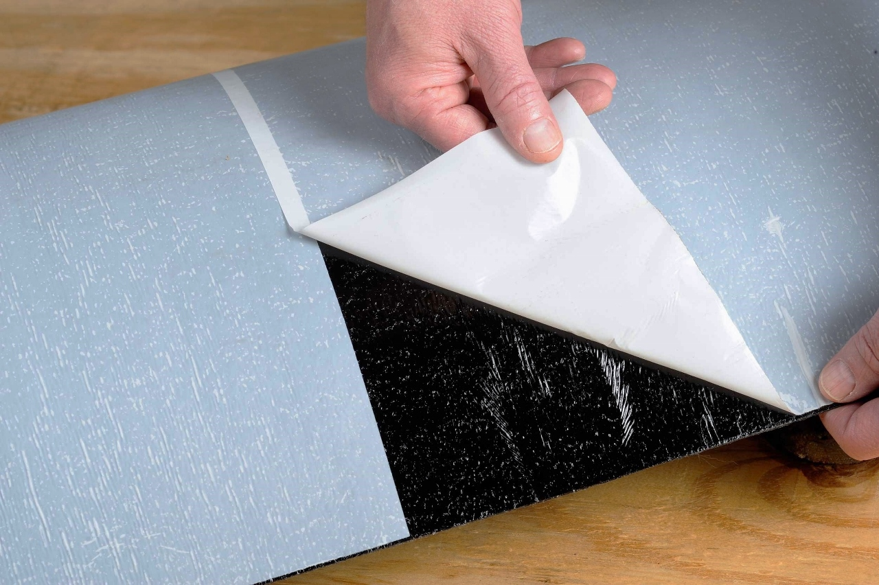 MFM underlayments come with a split release liner for easier installation on the job site.