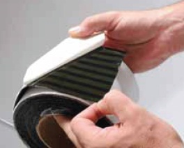 Patented PowerBond™ two-part adhesive system for aggressive adhesion!