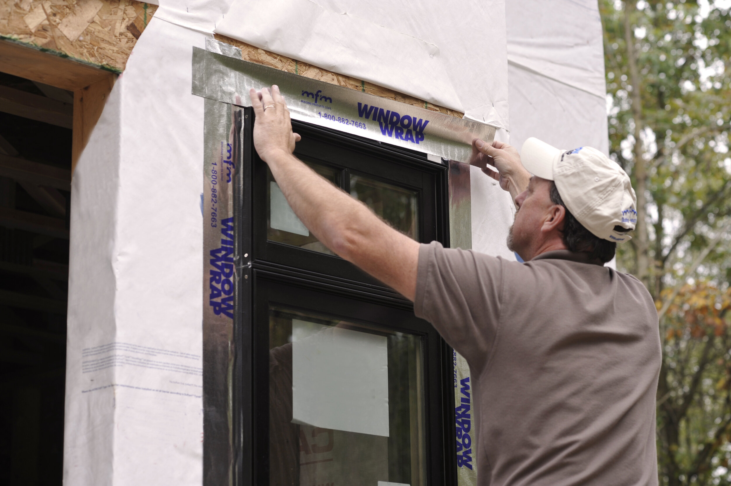 WindowWrap® PSX-20 is AAMA 711 certified to guarantee that the membrane meets and/or exceeds the necessary specifications for a proper window flashing membrane.