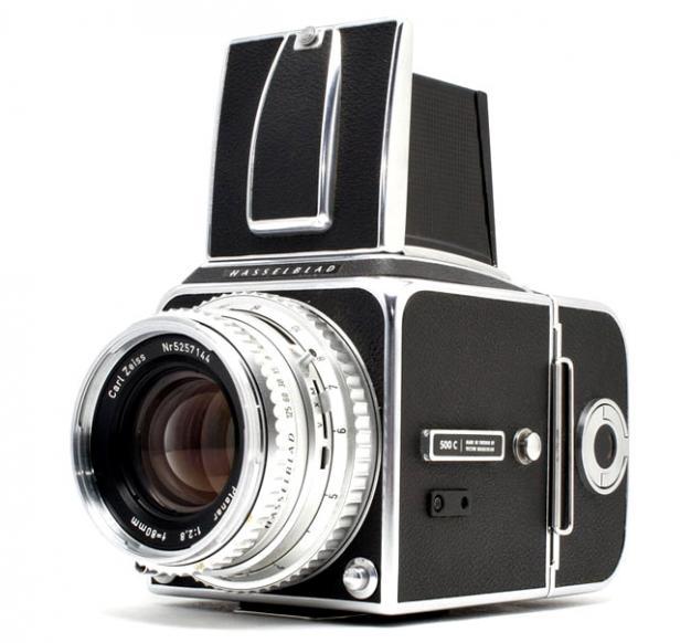 Hasselblad 500 CM - Medium format film