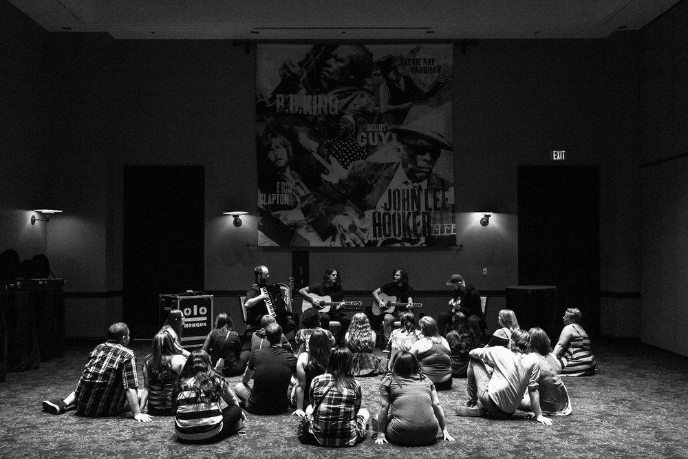 VIP Acoustic Performance in Las Vegas, 2017. Photo by Jeff Olsen