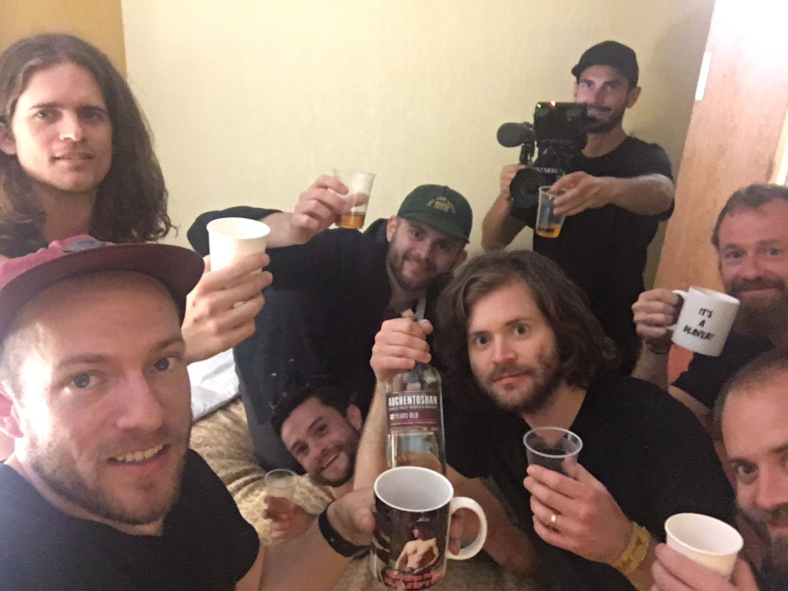 Celebrating the end of tour and the end of  Bus Call . Thank you to everyone who has watched, commented, and shared with their friends. When anyone asks what it is like to be in a band with your brothers, we can just share the YouTube  link …