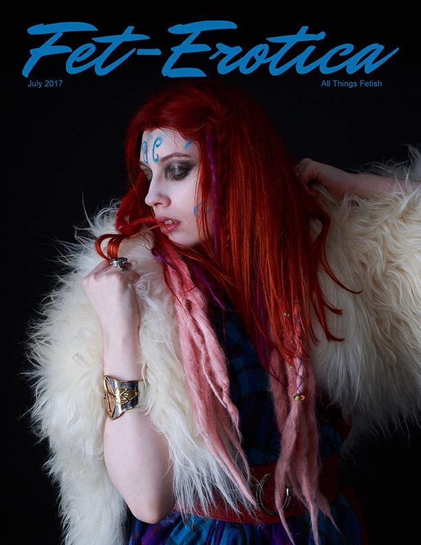 Fetish Cover - Photographer Portraits & Pinups - model Katja Macabre