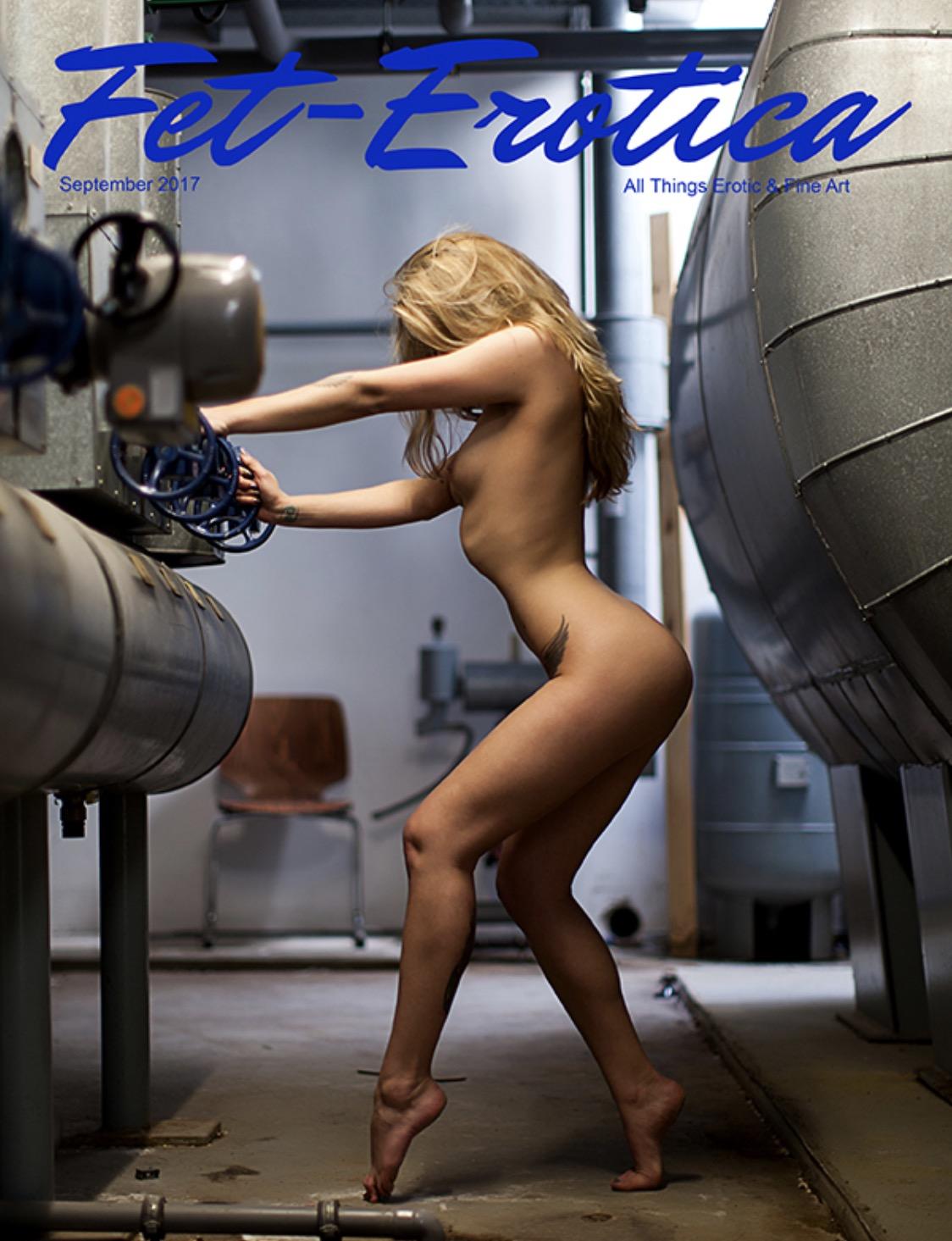 Issue 8 Erotica Cover