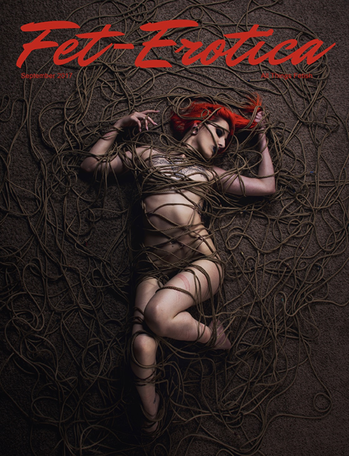 Issue 9 Fetish Cover