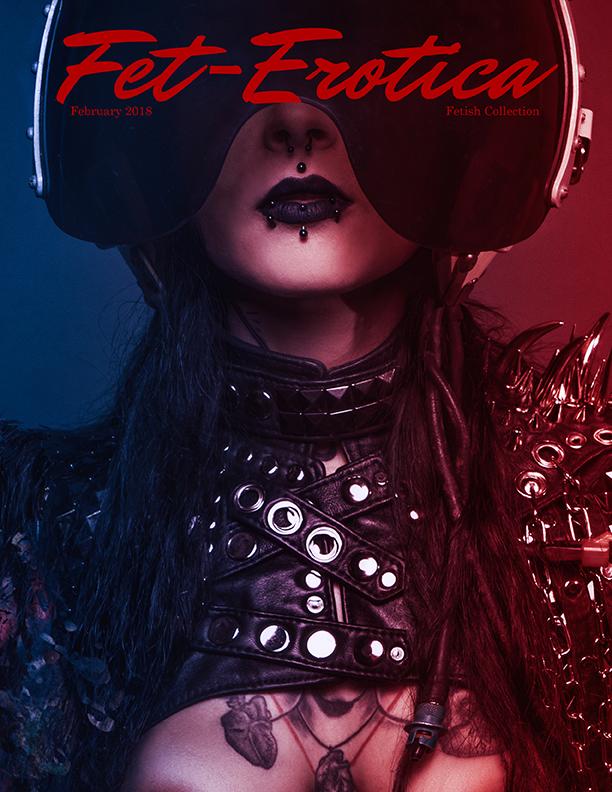 Fetish Cover Photographer Vince Voltage with Model Kristy von Kashyyyk