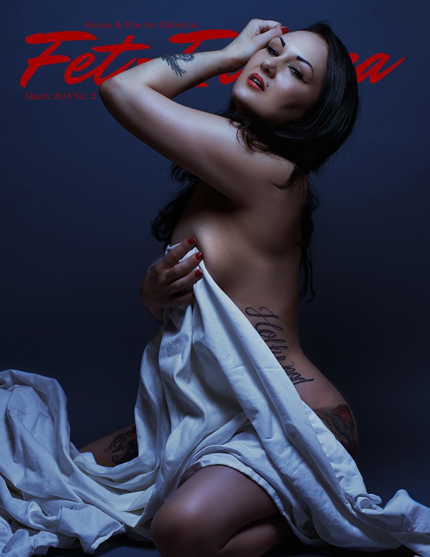 Erotica Cover - Stop Focus Studios | Model Leslie Vanlovelace