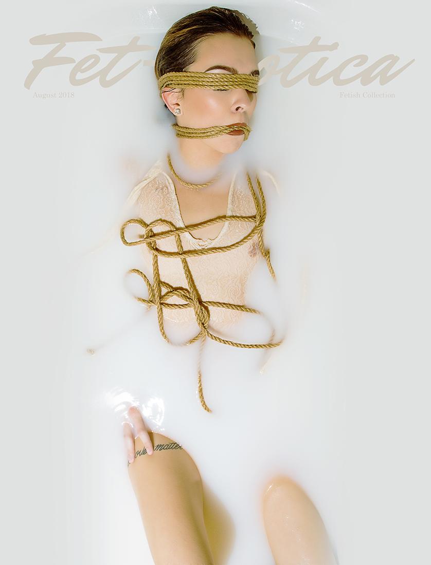 Fetish Cover | Photographer JC Stark | Model Emily Barford