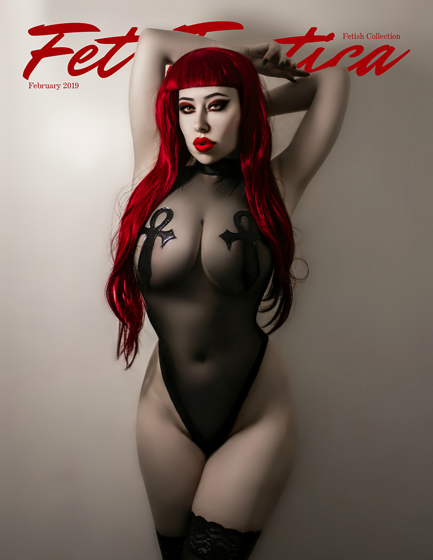 Fetish Cover | Phantasmagorical Arts Photography | Model Miss Britney Rae