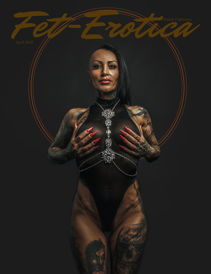 Fetish Cover | Photographer INKED Photo | Model Alexa