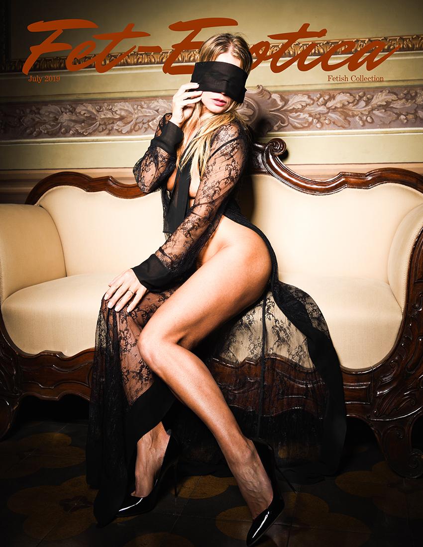 Erotica Cover | Photographer Alessandro Negrini | Model Agatha De Vil
