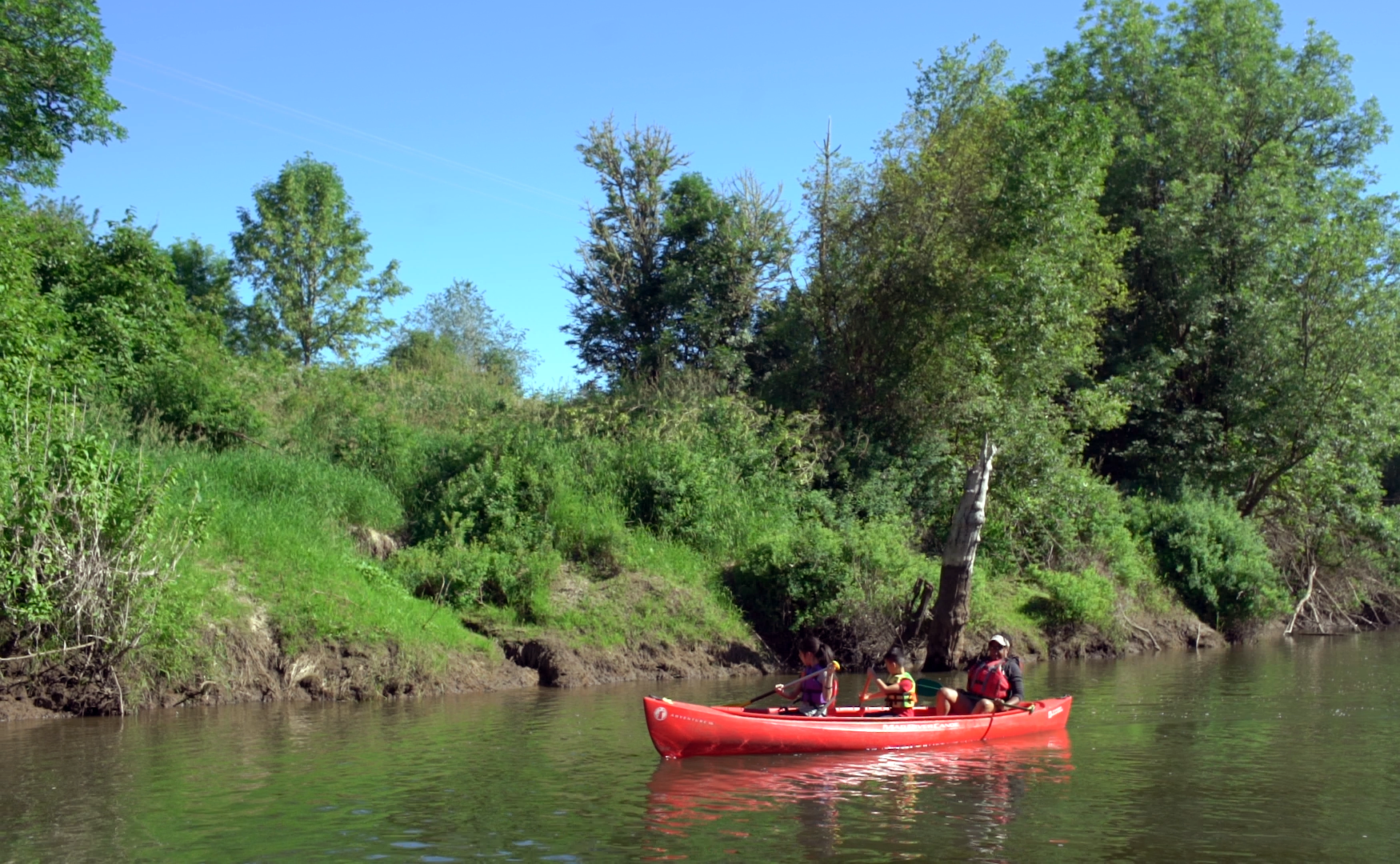 Discovery Day: People of all ages exploring their river