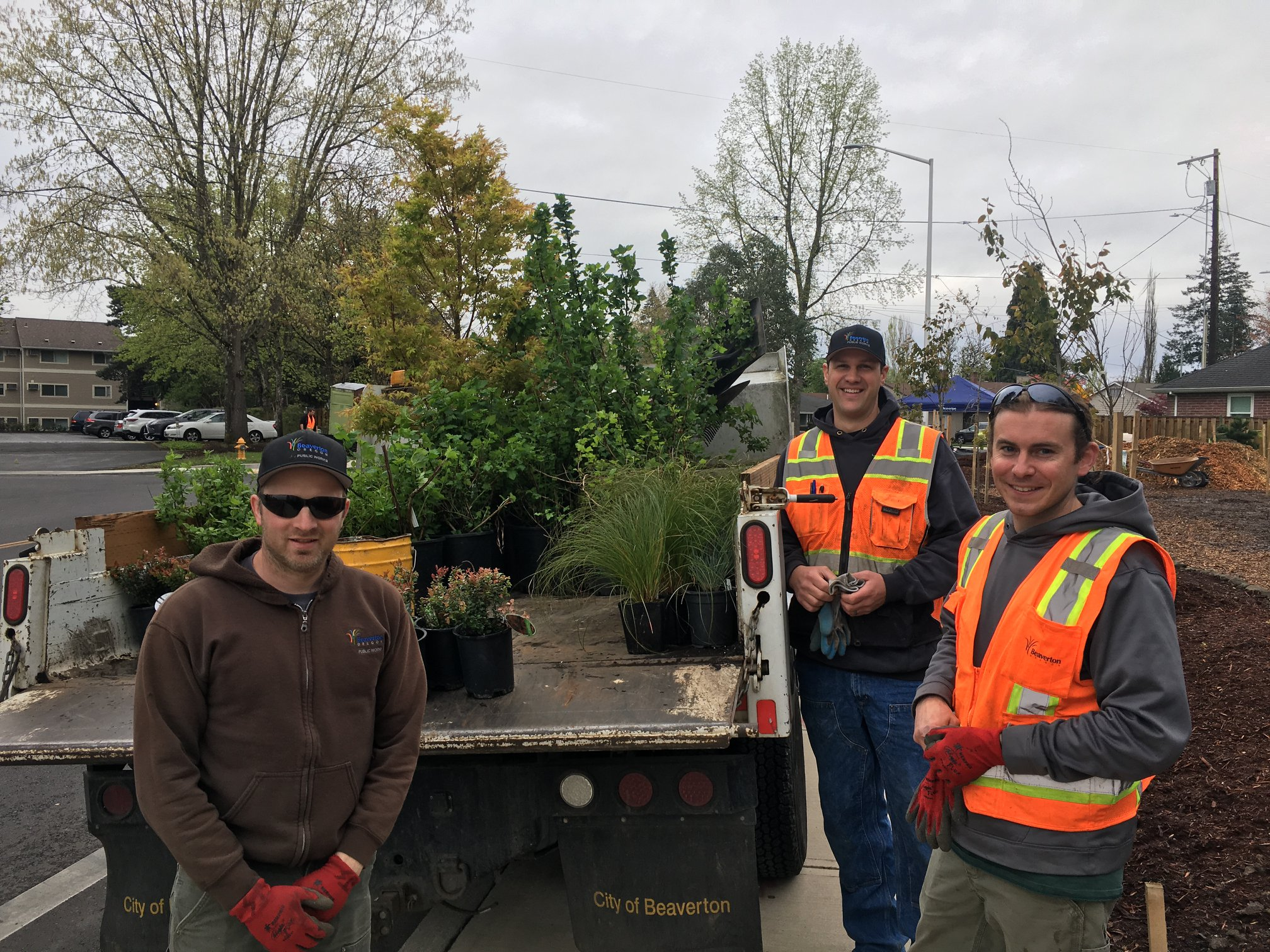 City of Beaverton volunteers at the 2019 SOLVE It for Earth Day.