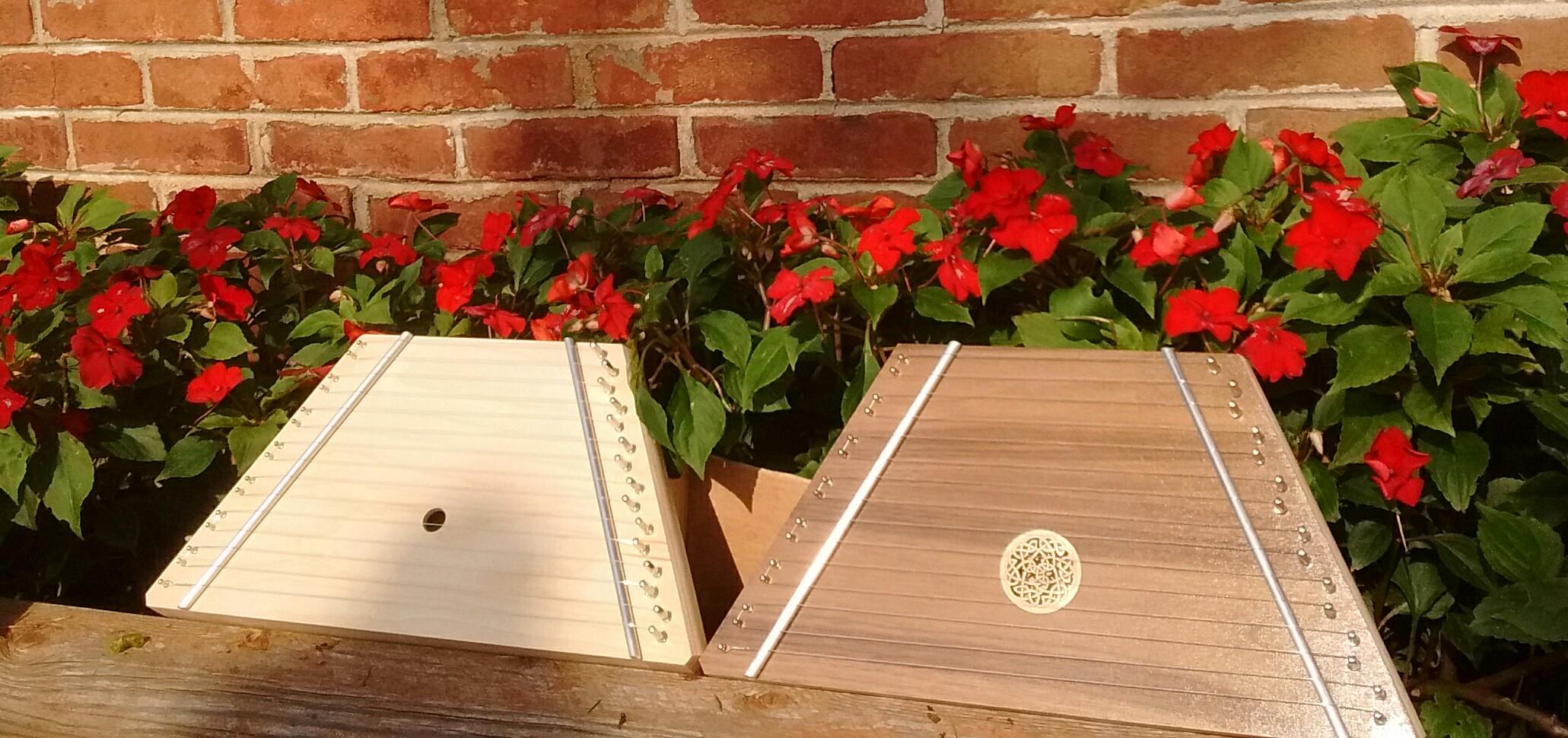 Lap Harps made by TK O'Brien of North Carolina