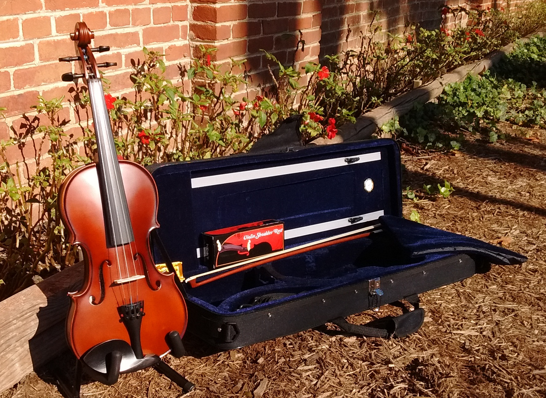 The Palatino VN 500 Genoa Series Violin Outfit - Regularly Priced in our store at only $159.00!