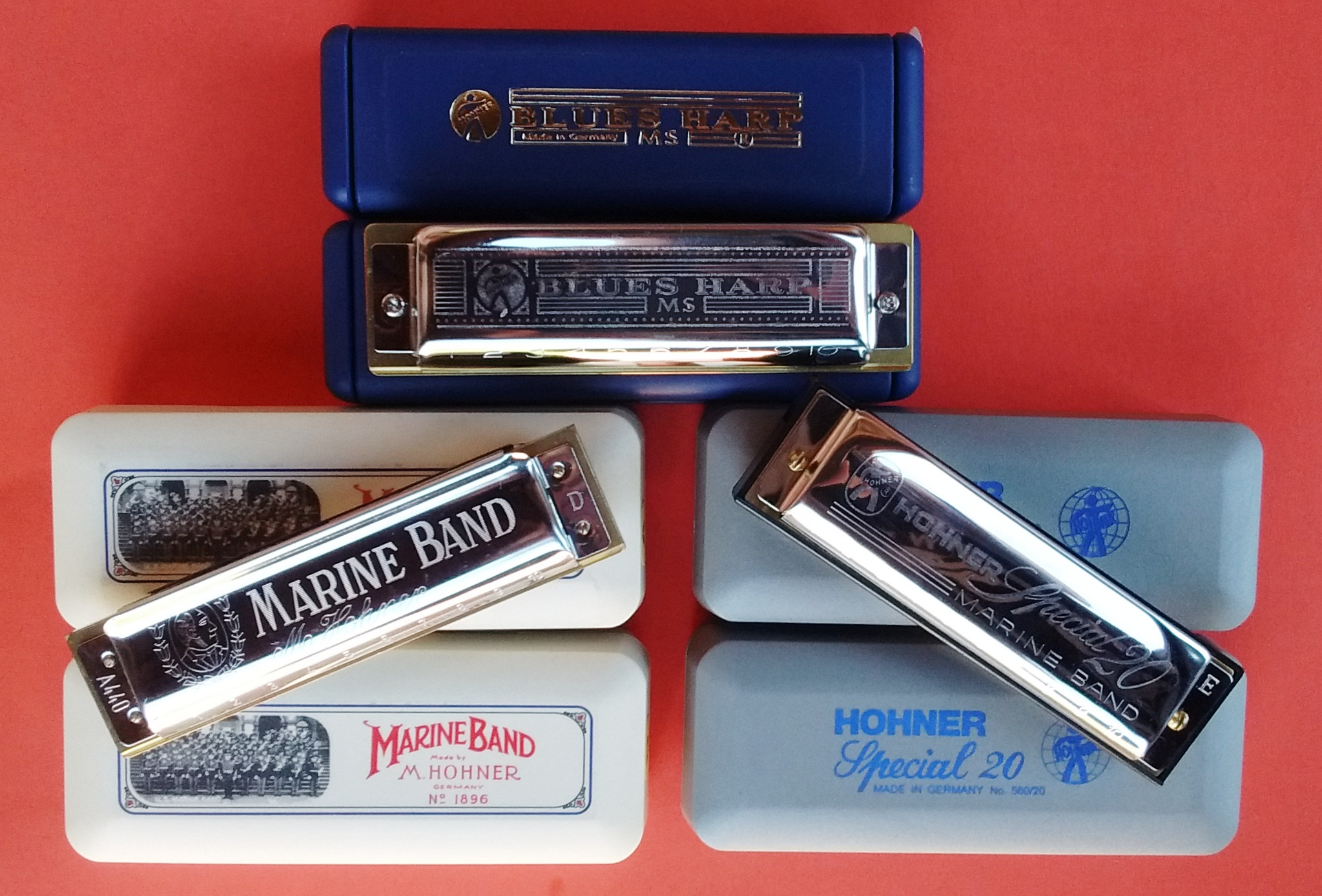 Hohner Harmonicas - The top leading brand in harmonicas!  Handmade in Trossingen, Germany.