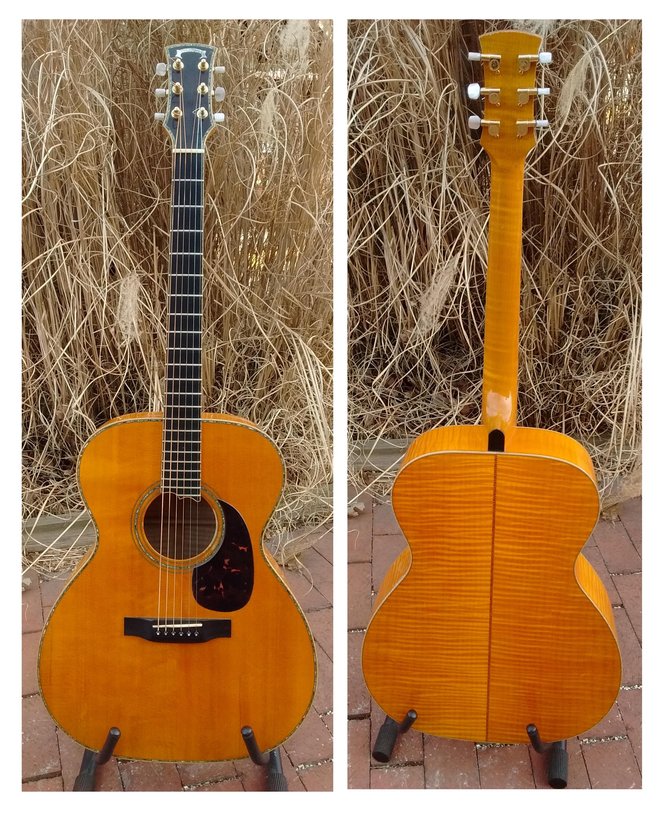 Handbuilt Dreadnaught Guitar - NOW ONLY $3499.99