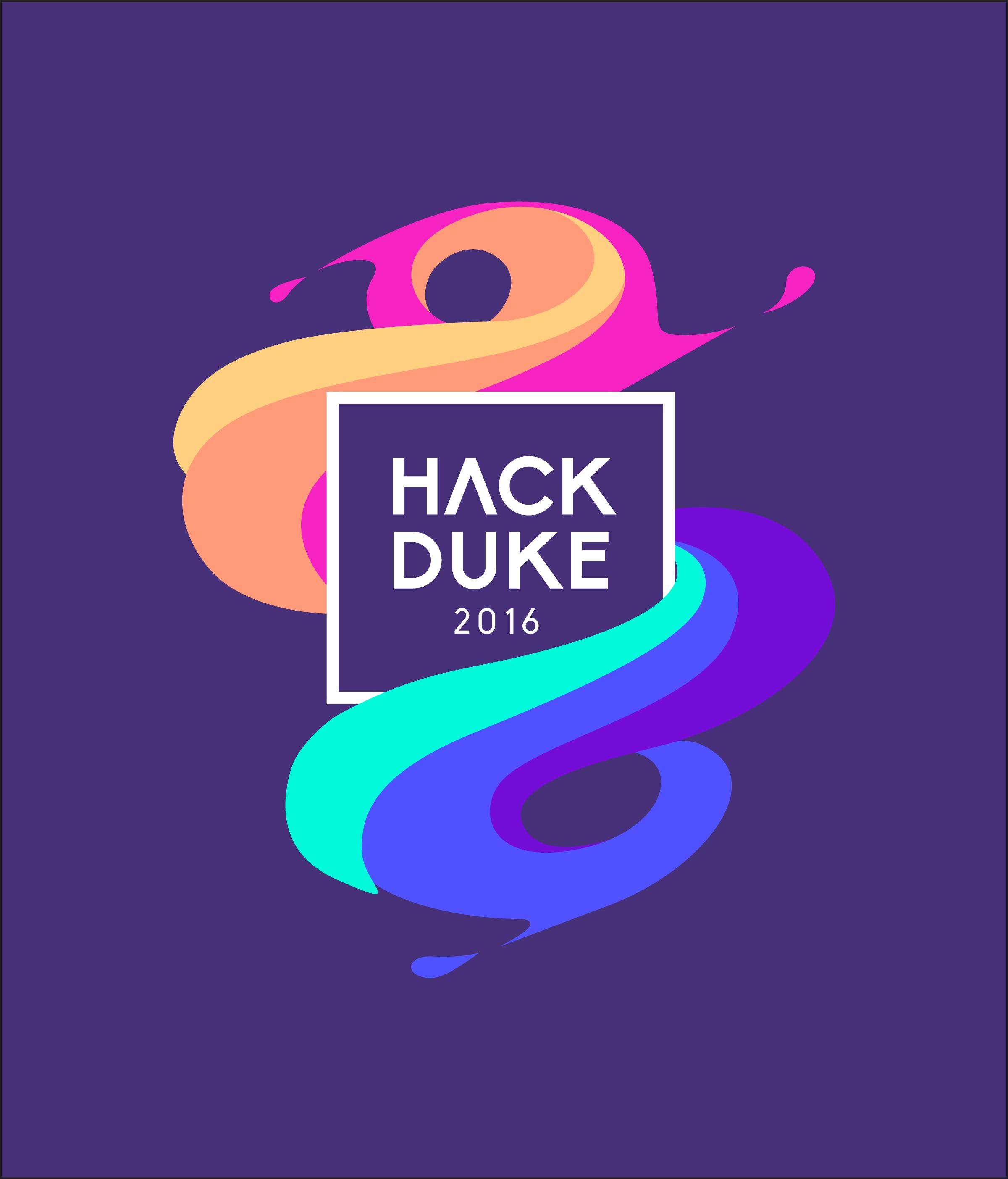 HackDuke tshirt design