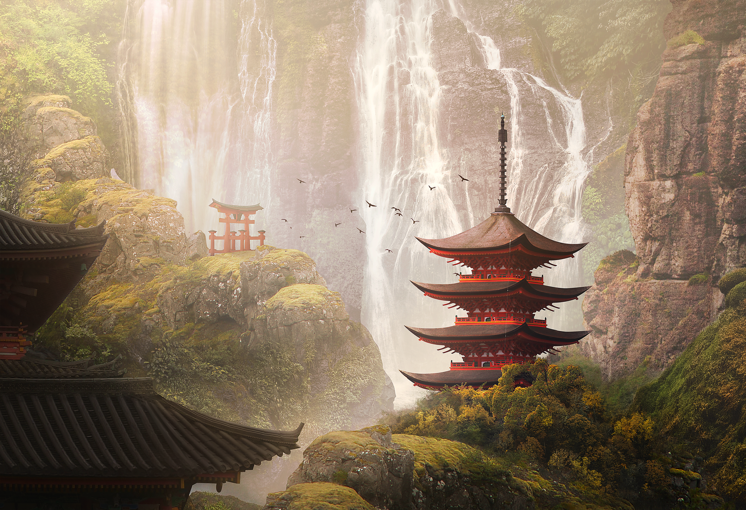 matte painting for my digital imaging class