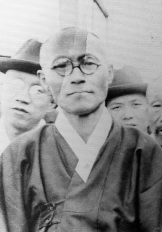 Dosan after being released in 1935 after 3 and a half years in Daejon Prison in Korea.