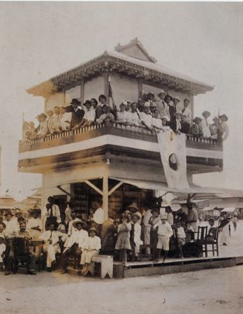 This photo was taken by Dosan in 1918 in Tampico, Mexico. Kim Ik Chu built this Korean style building. Kim was a member of the Korean National Association (aka Kungminhoe) and the Young Korean Academy (aka Hung Sa Dan). Dosan spent over six months in Mexico, the Yucatan, and Cuba before returning to Los Angeles. He was working on Independence Movement activities in Mexico as the President of the Central Congress of the KNA.
