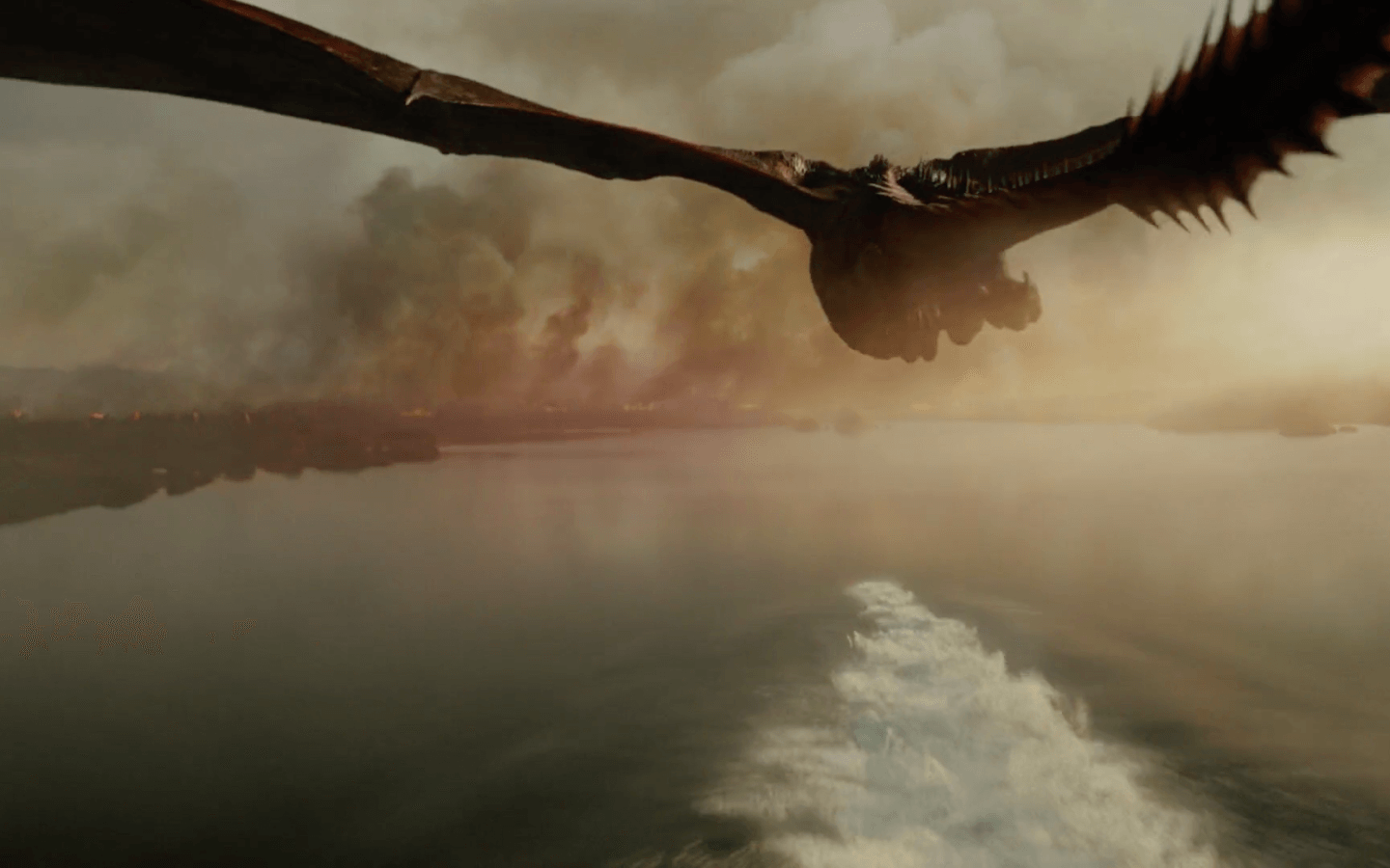 A dragon soaring in the Reach | HBO