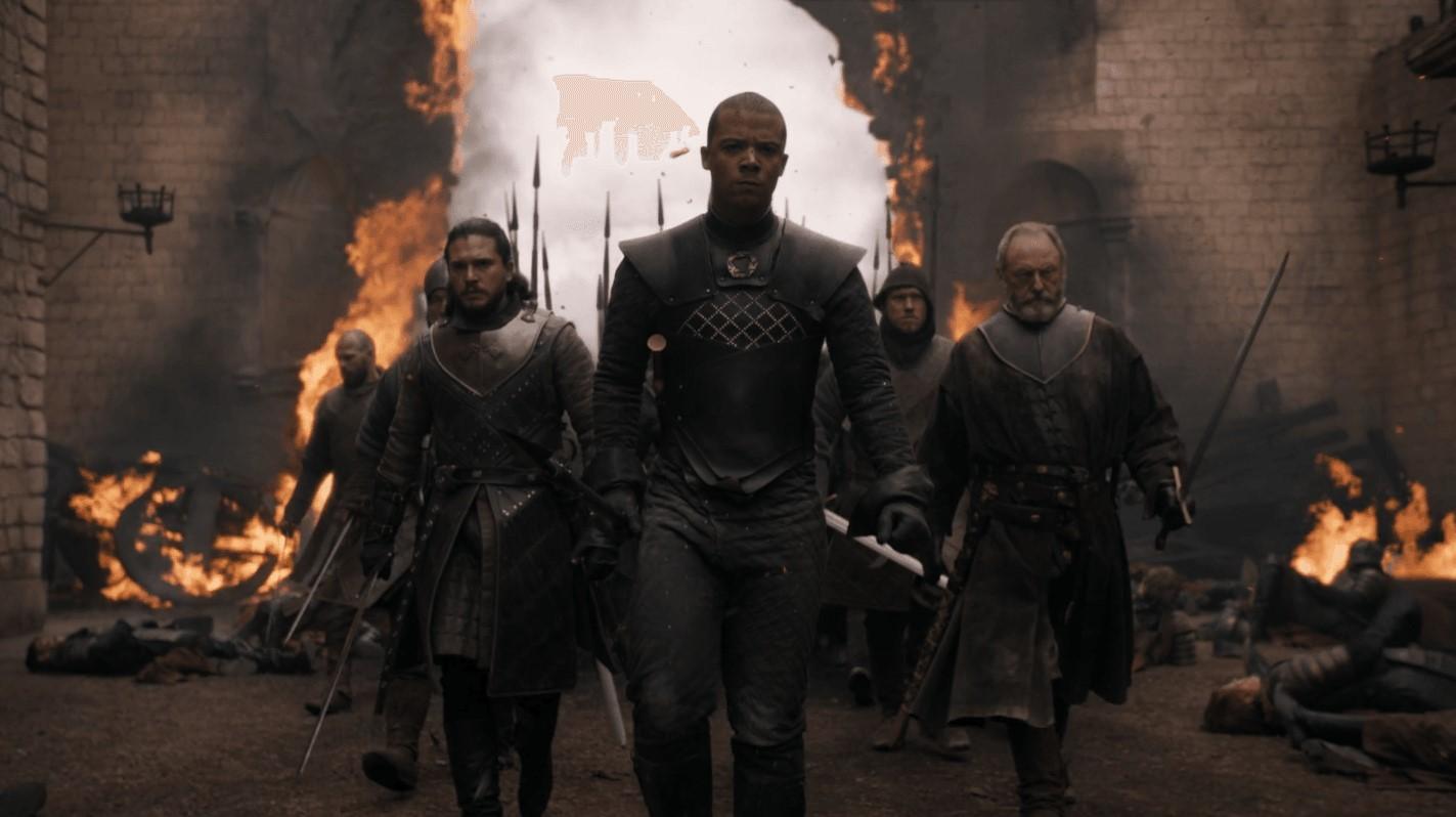 The vanguard entering King's Landing | HBO