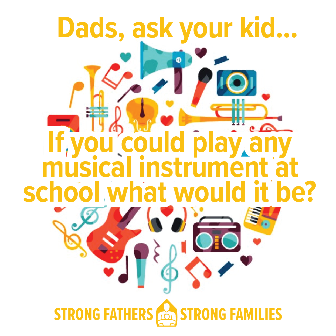 If you could play any musical instrument at school what would it be?