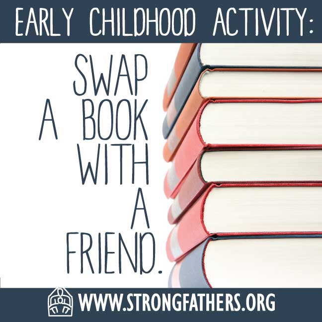 Swap a book with a friend.