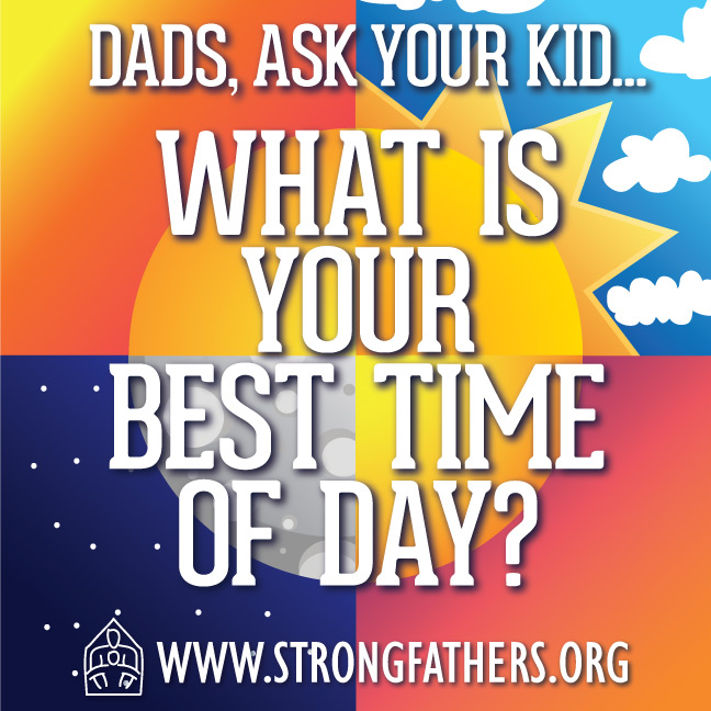 What is your best time of day?