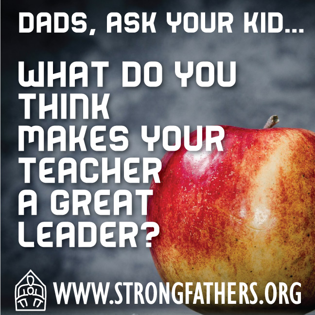 What do you think makes your teacher a great leader?