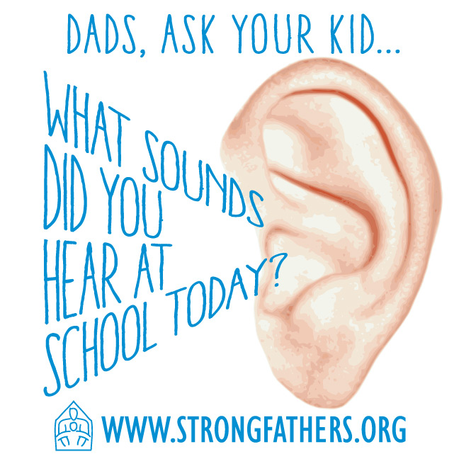 What sounds did you hear at school today?