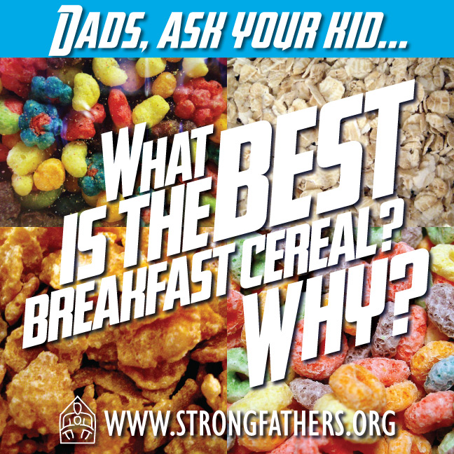 What is the best breakfast cereal?  Why?