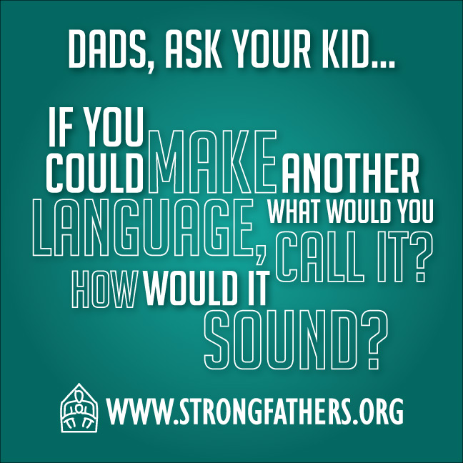 If you could make another language what would you call it?  How would it sound?